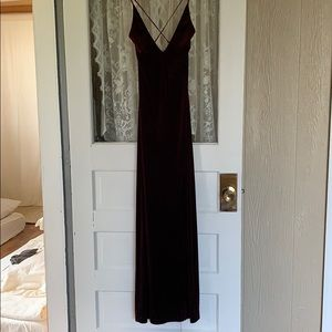 Dresses & Skirts - Ruby Red Velvet Dress